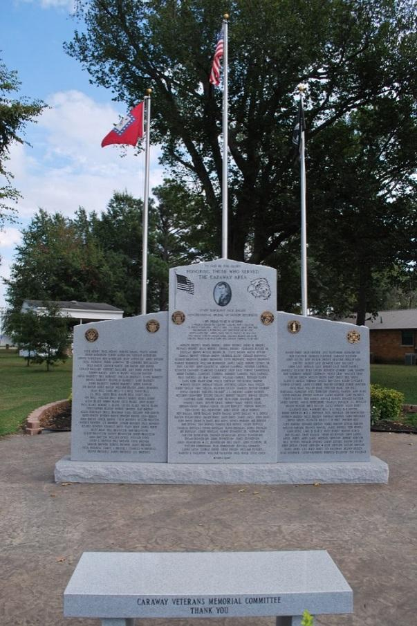 City of Caraway AR Veterans Memorial